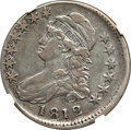 1812 50C Large 8, O-107, R.1 -- Struck 5% Off Center, Improperly Cleaned -- NGC Details. VF....(PCGS# 39452)