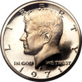 Proof Kennedy Half Dollars, 1971-S 50C PR69 Deep Cameo PCGS....