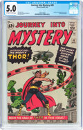 Silver Age (1956-1969):Superhero, Journey Into Mystery #83 (Marvel, 1962) CGC VG/FN 5.0 Off-white to white pages....