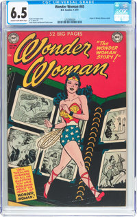 Wonder Woman #45 (DC, 1951) CGC FN+ 6.5 Cream to off-white pages