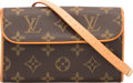 "Luxury Accessories:Bags, Louis Vuitton Classic Monogram Coated Canvas Florentine Waist Bag.Very Good to Excellent Condition. 6.5"" Width x 4"" Heigh..."