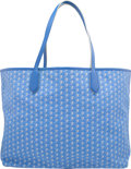"Luxury Accessories:Bags, Moynat Blue Monogram Canvas Cabas Tote Bag. ExcellentCondition. 15"" Width x 12"" Height x 5.5"" Depth. ..."