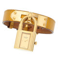 Estate Jewelry:Watches, Hermès Gold-Plated Kelly Watch. ...