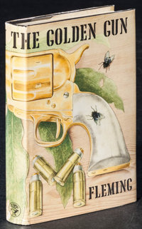 The Man with the Golden Gun by Ian Fleming (Jonathan Cape, 1965). Original First Edition British Hardcover Book (221 Pag...