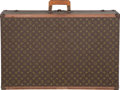 "Luxury Accessories:Bags, Louis Vuitton Classic Monogram Canvas Trunk, circa 1970's. Goodto Very Good Condition. 31"" Width x 20.5"" Height x10""..."