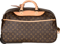 "Louis Vuitton Classic Monogram Canvas Alize Trolley Bag Excellent Condition 19"" Width x 11"" Heigh"