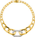 Estate Jewelry:Necklaces, Diamond, Gold Necklace, Nava Nencini. ...