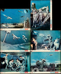 """Movie Posters:Science Fiction, The X from Outer Space (Shochiku Co., 1967). Japanese Lobby Cards(6) (10.25"""" X 14.25""""). Science Fiction.. ... (Total: 6 Items)"""