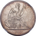 1836 P$1 Name on Base, Judd-60 Original, Pollock-65, R.5 -- Obverse Rim Filed -- NGC Details. XF. Die State E....(PCGS#...