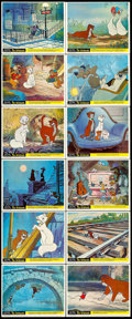 """Movie Posters:Animation, The Aristocats (Buena Vista, 1970). Mini Lobby Card Set of 12 (8"""" X10""""). Animation.. ... (Total: 12 Items)"""