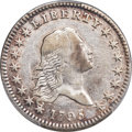 Early Half Dollars, 1795 50C 2 Leaves, O-105a, T-25, R.4, XF45 PCGS....