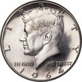 Kennedy Half Dollars, 1964-D 50C MS65 Prooflike NGC....