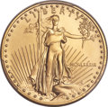 Modern Bullion Coins, 1989 $25 Half-Ounce Gold Eagle MS70 PCGS....