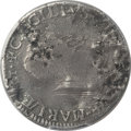 Colonials, (1659) SHILNG Lord Baltimore Shilling -- Damage -- PCGS Genuine. Fine Details. Hodder 1-A, W-108...