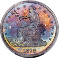 Proof Trade Dollars, 1878 T$1 PR66 PCGS. CAC....