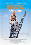 """Movie Posters:Foreign, Cinema Paradiso (Sovereign, 1990). Spanish Language One Sheet (26.75"""" X 40.75"""") SS. Foreign.. ..."""