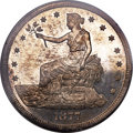 Proof Trade Dollars, 1877 T$1 PR64 PCGS. CAC....