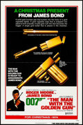 "Movie Posters:James Bond, The Man with the Golden Gun (United Artists, 1974). One Sheet (27""X 41"") Flat Folded Advance. James Bond.. ..."