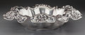 Silver Holloware, American:Bowls, A Dominick & Haff Silver Center Bowl with Lotus Motif, NewYork, New York, circa 1900. Marks: (diamond-circle-rectangle),...