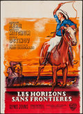 "Movie Posters:Drama, The Sundowners (Warner Brothers, 1961). French Affiche (23.75"" X 31.5""). Drama.. ..."