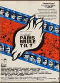 "Movie Posters:War, Is Paris Burning? (Paramount, 1966). French Affiche (23"" X 31.25"").War.. ..."