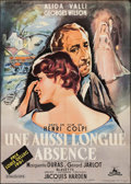 """Movie Posters:Foreign, The Long Absence (Cocinor, 1961). French Grande (45.5"""" X 62""""). Foreign.. ..."""