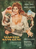"Movie Posters:Foreign, Madame Sans-Gêne (Cinedis, 1962). French Affiche (23.5"" X 31.5""). Foreign.. ..."