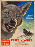 """Movie Posters:Foreign, The Living Forest (Filmonde, 1956). French Affiche (23.75"""" X 31.5""""). Foreign.. ..."""