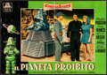 "Movie Posters:Science Fiction, Forbidden Planet (MGM, 1956). Italian Photobusta (18.75"" X 26.5"").Science Fiction.. ..."
