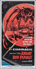"""Movie Posters:Science Fiction, The Angry Red Planet (American International, 1960). Three Sheet(41"""" X 79""""). Science Fiction.. ..."""