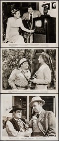 "Movie Posters:Comedy, Abbott and Costello Lot (1947/R-1953). Autographed Photo &Photos (2) (Approx. 8"" X 10""). Comedy.. ... (Total: 3 Items)"