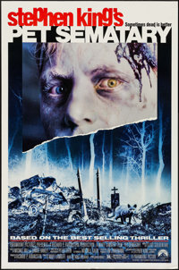 """Pet Sematary & Other Lot (Paramount, 1989). One Sheet (27"""" X 41"""") & New York One Sheet (29.5"""" X 4..."""