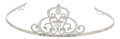 Estate Jewelry:Other, Diamond, White Gold Tiara, Cynthia Bach. ...
