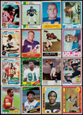 Football Cards:Lots, 1954-2002 Baseball & Football Collection (300+) With Stars and HoFers....