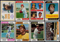Baseball Cards:Sets, 1974 Topps Baseball Complete Set (660) Plus Traded Set (44) and Team Checklists (24)....