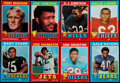 Football Cards:Sets, 1971 Topps Football Complete Set (263). . ...