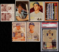 Baseball Cards:Lots, 1941-57 Bowman, Double Play & Topps Collection (55)....
