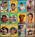 Baseball Cards:Lots, 1957-60 Topps Baseball Collection (379). ...