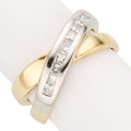 Estate Jewelry:Rings, Diamond, Gold Ring, French. . ...