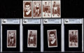 """Boxing Cards:General, 1938 Churchman """"Boxing Personalities"""" Complete Sets Pair (2)...."""