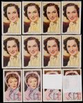 "Non-Sport Cards:Sets, 1939 Gallaher ""My Favourite Part"" Complete Set Collection (12). ..."