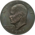 Eisenhower Dollars, 1971 $1 MS66 PCGS. CAC. PCGS Population (70/0). NGC Census: (39/0). Mintage: 47,799,000. ...