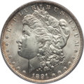 1891-O $1 MS64 PCGS. PCGS Population (1601/110). NGC Census: (1047/69). Mintage: 7,954,529. CDN Wsl. Price for problem f...