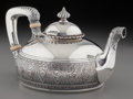 Silver Holloware, American:Tea Pots, A Gorham Aesthetic Movement Silver Teapot, Providence, RhodeIsland, circa 1863-1868. Marks: (lion-anchor-G), STERLING,15...