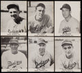 Baseball Cards:Lots, 1947 Tip Top Bread Brooklyn Dodgers Collection (25)....