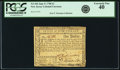 Colonial Notes:New Jersey, State of New Jersey June 9, 1780 $1 Fr. NJ-184. PCGS Extremely Fine40.. ...