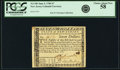 Colonial Notes:New Jersey, State of New Jersey June 9, 1780 $7 Fr. NJ-189. PCGS Choice AboutNew 58.. ...
