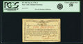 Colonial Notes:New York, New York Water Works January 6, 1776 2 Shillings Fr. NY-182. PCGSChoice About New 58.. ...