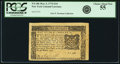 Colonial Notes:New York, New York March 5, 1776 $1/6 Fr. NY-186. PCGS Choice About New 55.....