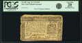 Colonial Notes:New York, New York August 13, 1776 $1/2 Fr. NY-201. PCGS Very Fine 20Apparent.. ...